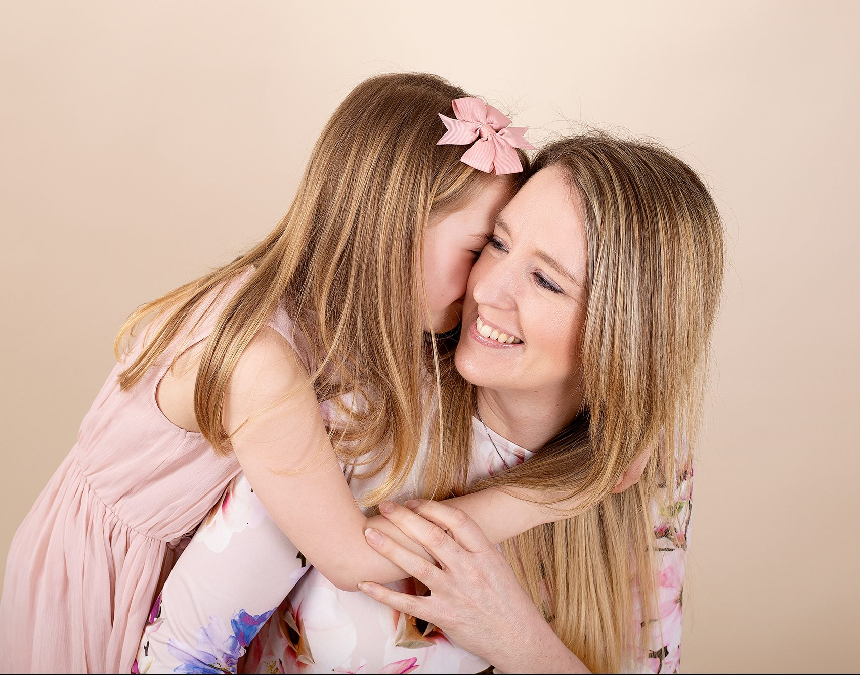 mummy and daughter