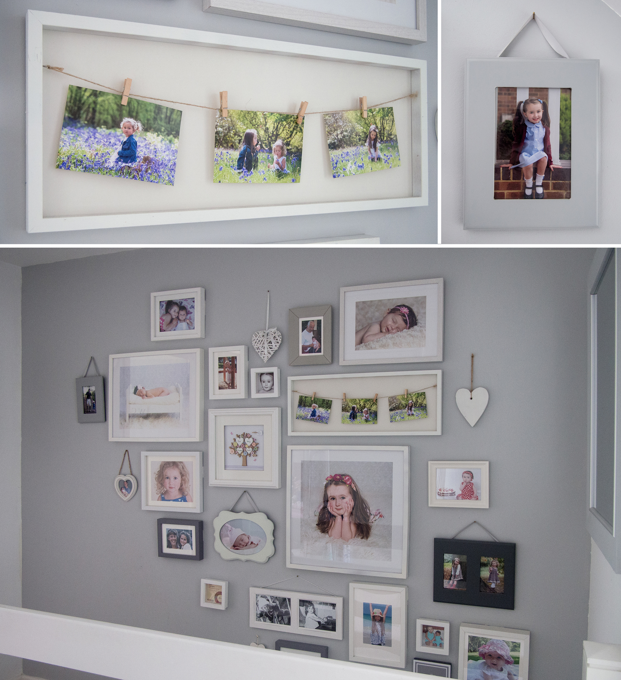 photo wall frames