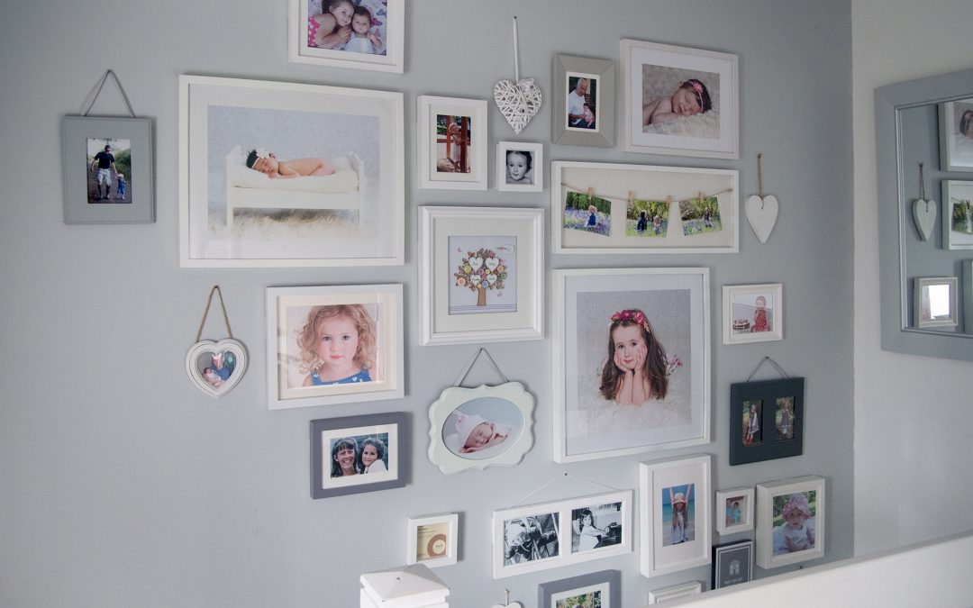 How to create a photo wall – my top tips